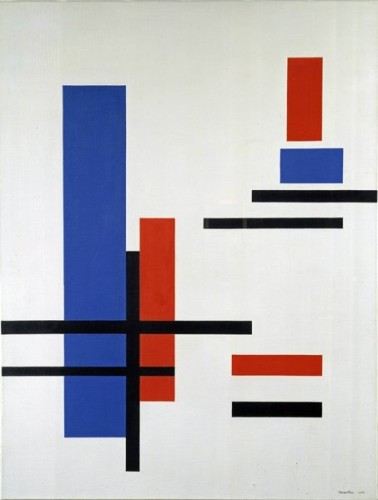 <em>Blue, Red, Black and White 3</em>, 1953