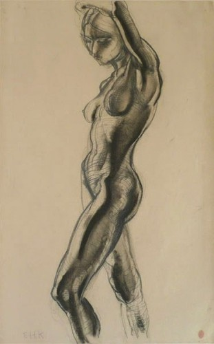 <em>Nude Figure no.8 / Sculpture Study</em>, c.1926