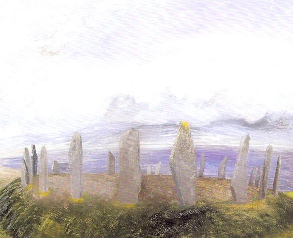 <em>Stone Circle, Orkneys</em>, c.1930