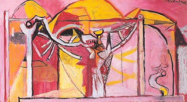 <em>Figure & Vine Structure</em>, 1948