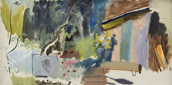 <em>Blue Door - Greenleaves</em>, c.1943