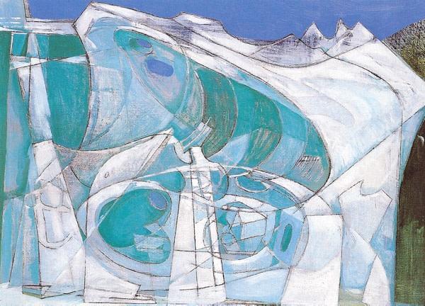 <em>Glacier (Blue Cave)</em>, 1950