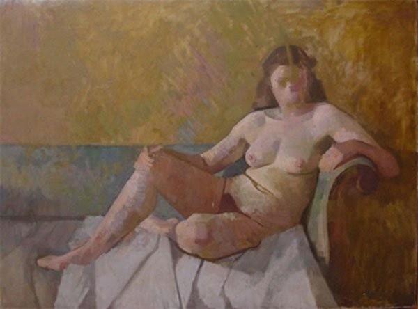 <em>Reclining Nude</em>, 1950