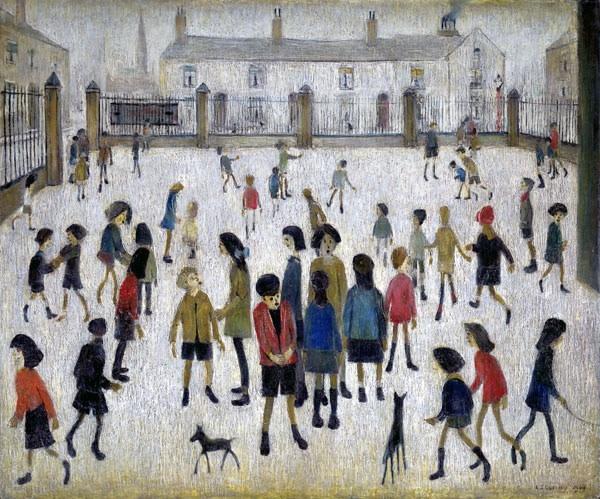 <em>The School Yard</em>, 1949