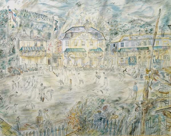 <em>The Cricket Match, Sidmouth</em>, 1937
