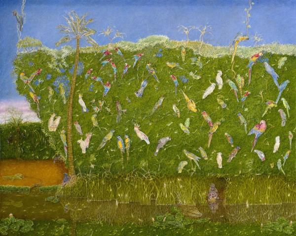 <span class=&#34;artist&#34;><strong>James Reeve</strong></span>, <span class=&#34;title&#34;><em>Parrots</em>, 2015</span>