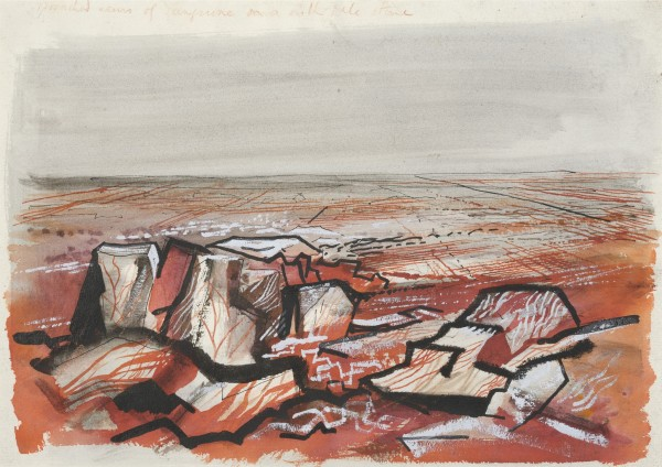 <em>Study for Walter De La Mare, The Traveller</em>, c.1945