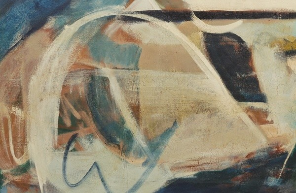 <em>Porthmeor Mural (detail)</em>, 1962-63