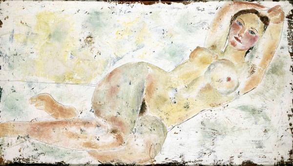 <em>Reclining Nude</em>, 1926