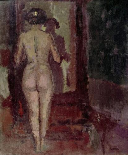 <em>Nude at a Mirror (Sally)</em>, 1906-07