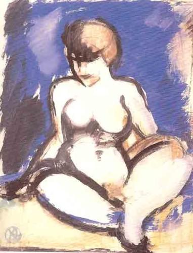 <em>Blue Nude</em>