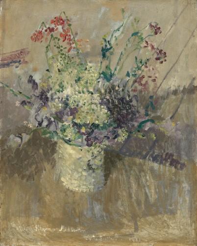 <em>Flowers in a White Vase</em>, 1911