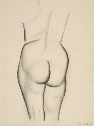 <em>Female Nude Study</em>, 1926