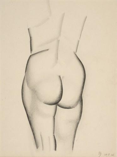 <em>Female Nude Study</em>, 1926