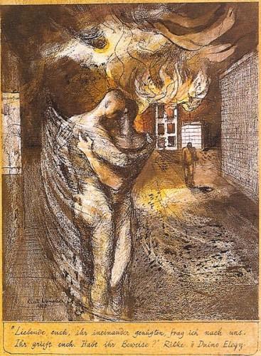 <em>Duino Elegy - Rilke</em>, 1942
