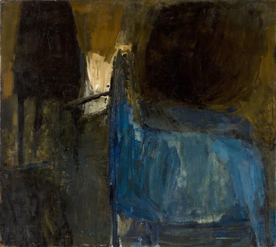 <em>Blue Horse & Black Form</em>, 1957