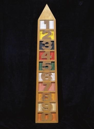 <em>1234567890 Obelisk</em>, 1963