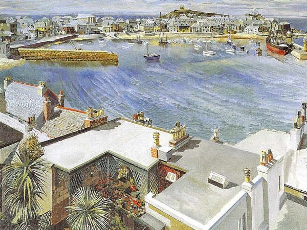 <em>The Harbour, St Ives</em>, 1937