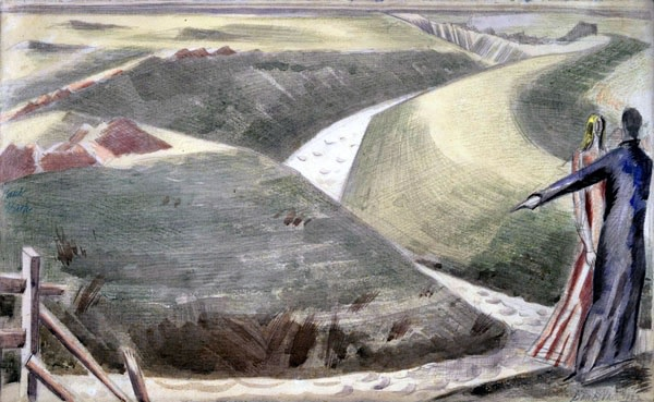 <em>Great Dyke, Romney Marsh</em>, 1922
