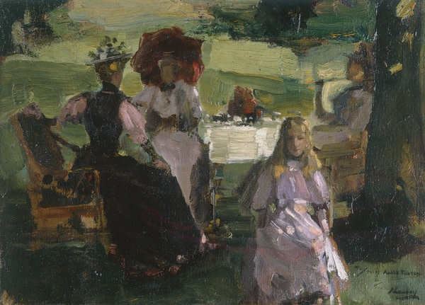 <em>Breakfast on the Terrace</em>