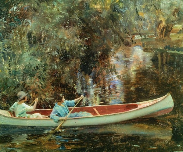 <em>The White Canoe</em>, c.1921-22