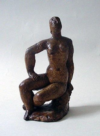 <em>Seated Nude</em>, c.1939