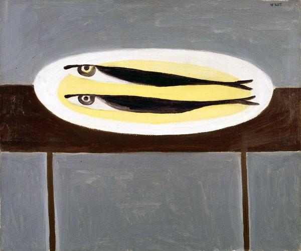 <em>Fish on a Plate</em>, 1949