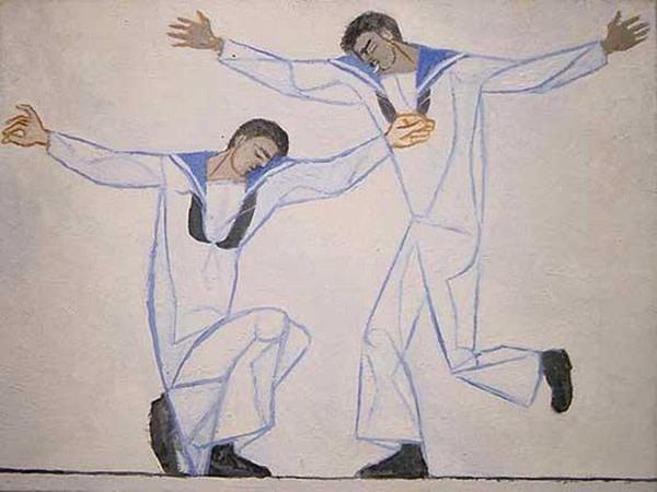 <em>Two Greek Sailors Dancing</em>, 1951