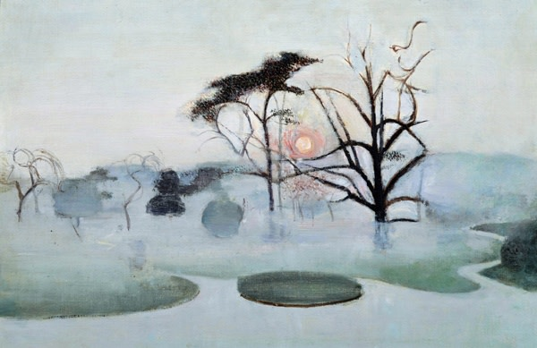 <em>Chiswick Park in a Frost</em>, 1947