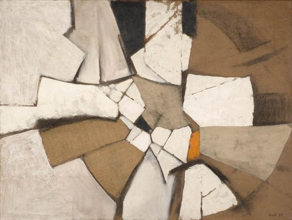 <span class=&#34;artist&#34;><strong>Adrian Heath</strong></span>, <span class=&#34;title&#34;><em>Oval Theme no.2</em>, 1959</span>