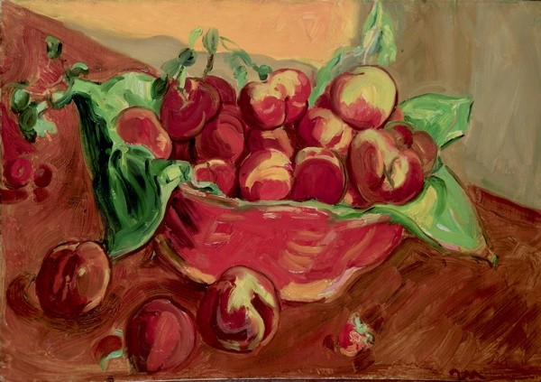 <em>Basket of Peaches, Aix-en-Provence</em>, 1935