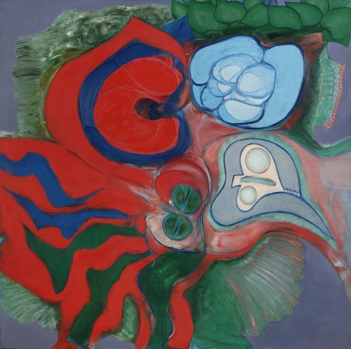 <em>Cycle of Nature: Blue & Red</em>, 1965-68