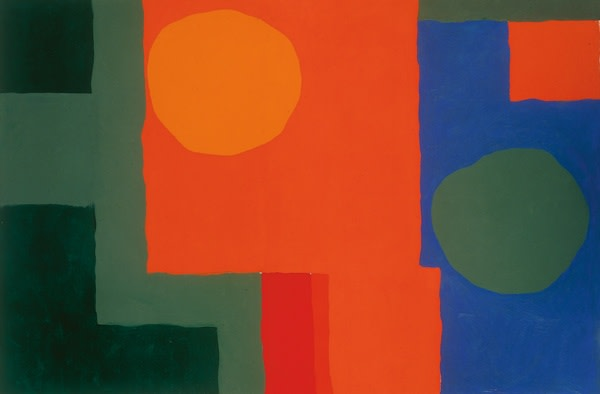 <em>Orange in Red, Green in Blue</em>, 1964