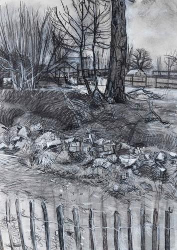 <em>Landscape with Rubble</em>, 2014-15