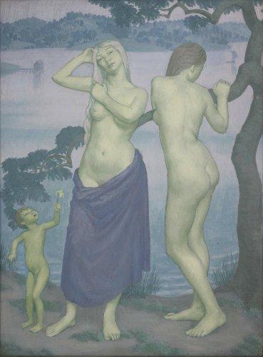 <em>The Lake</em>, 1911