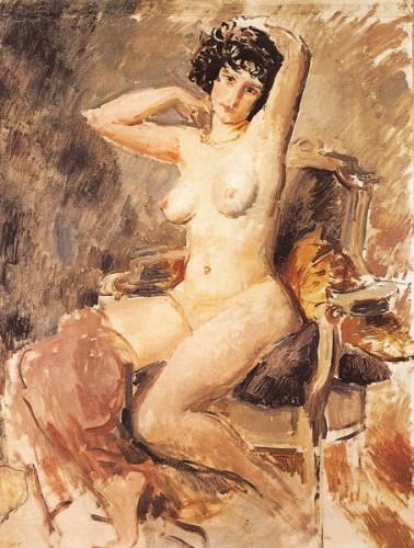 <em>Seated Nude</em>, c.1925