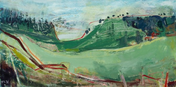 <span class=&#34;artist&#34;><strong>Kate Corbett-Winder</strong></span>, <span class=&#34;title&#34;><em>Cambrian Hill</em>, 2014</span>