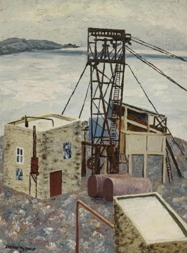 <em>Landscape, Cornwall (Quarry)</em>, 1923