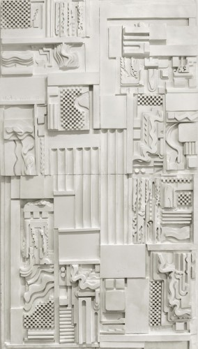 <em>White Plaster Relief</em>, 1975