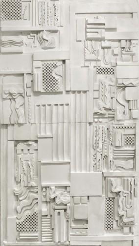 <em>White Plaster Relief</em>, 1975
