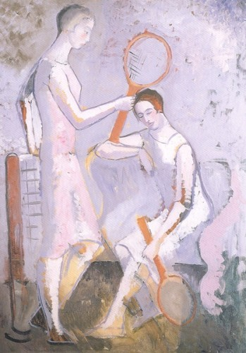 <em>Tennis Players</em>, c.1925