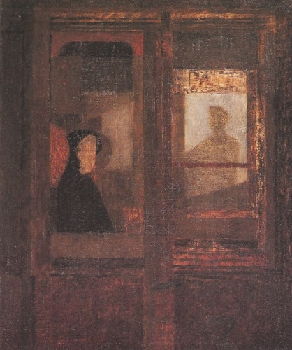 <em>Train Window</em>, 1948
