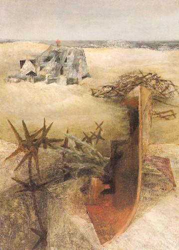 <em>Closed Beach</em>, 1945