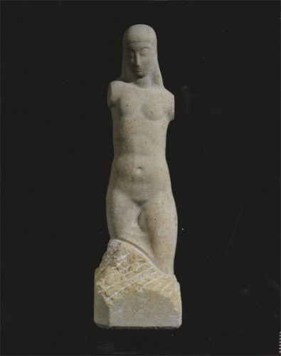 <em>Female Torso & Head</em>, 1913-15