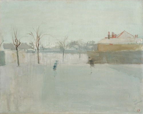 <em>Winter Scene</em>, 1946-47