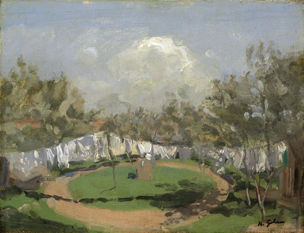 <em>Washing Day</em>, 1908