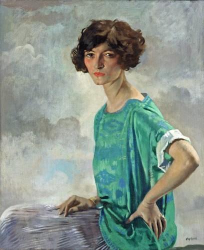 <em>Portrait of Gertrude Sandford Legendre</em>, 1922