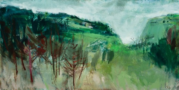 <span class=&#34;artist&#34;><strong>Kate Corbett-Winder</strong></span>, <span class=&#34;title&#34;><em>Gorse Bank, Autumn</em>, 2016</span>