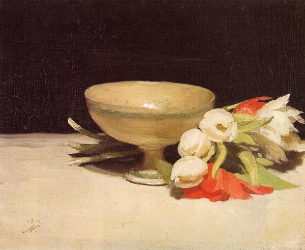 <em>Tulips & A Libation Cup</em>, 1911