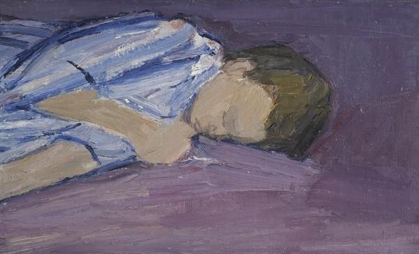 <em>Nicholas Asleep</em>, 1957